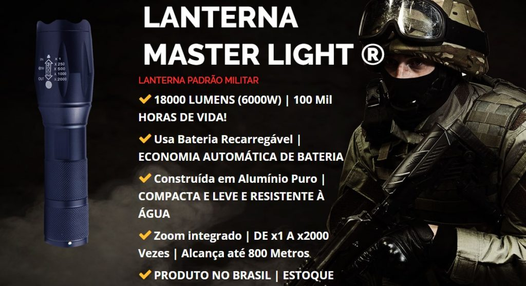 Lanterna Militar Master Light