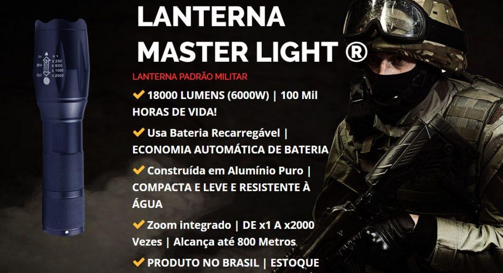 Lanterna Militar Master Light